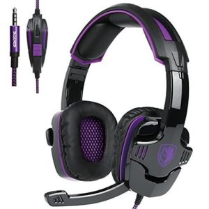 2016-New-UpdatedSades-SA920-Wired-Stereo-Gaming-Headset-Over-Ear-Headphones-with-Microphone-for-Xbox-One-Xbox-360-PS4-PC-Cell-phones-iPadBlackWhite-0