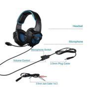 2016-SADES-SA-807-New-Released-Multi-Platform-New-Xbox-one-PS4-Gaming-Headset-Gaming-Headsets-Headphones-For-New-Xbox-one-PS4-PC-Laptop-Mac-iPad-iPod-BlackBlue-0-5