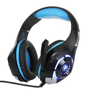 Headset-for-PS4-PSP-Xbox-one-Tablet-iPhone-Ipad-Samsung-Smartphone-redhoney-Led-Light-RD-1-Headphone-with-Adapter-Cable-for-PC-BlackBlue-0