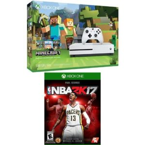 Xbox-One-S-500GB-Console-Minecraft-Bundle-and-NBA-2K17-0