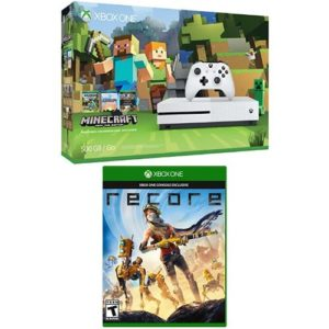 Xbox-One-S-500GB-Console-Minecraft-Bundle-and-ReCore-0