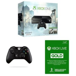 Xbox-One-Assassins-Creed-Unity-500GB-Bundle-with-Second-Controller-and-3-Month-Xbox-Live-Gold-Card-0